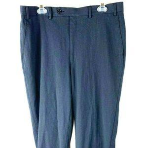 Mens Michael Kors Black Dress Pants 36X34